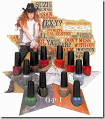 TNG & OPI: Both Doing Texas