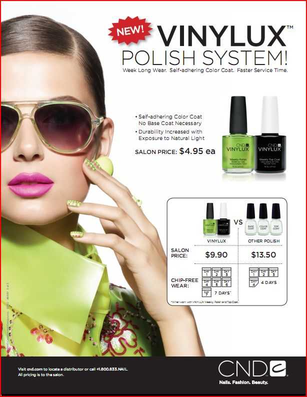 . To order and see more, visit theindustrysource.com/cnd-vinylux