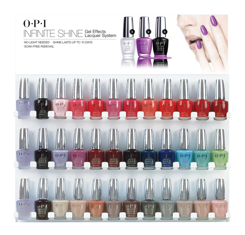 OPI INFINITE SHINE SOLIDIFIES THIRD CATEGORY OF NAIL COLOR | THE ...